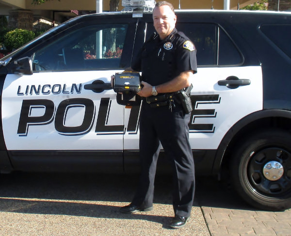 Lincoln Police Chief Rex Marks