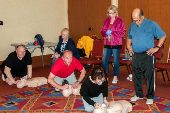 CPR AED First Aid Training